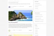 Pellentesque free resposivní blogová šablona