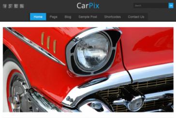 Responsivní Carpix šablona od Themes4all