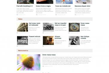 Jumnews premium WordPress šablona pro blog