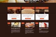 Linguini restaurační WordPress premium šablona