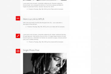 Sympalpress free responsivní blogová šablona