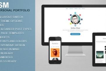 Osobní portfolio šablona pro WordPress