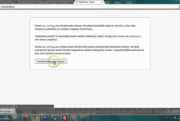 Jak nainstalovat WordPress – videonávod