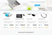 Adamas premium ecommerce WordPress šablona