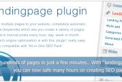 Landingpages WordPress plugin s českou lokalizací