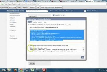 Jak přidat Facebook tlačítko Líbí se mi do článku