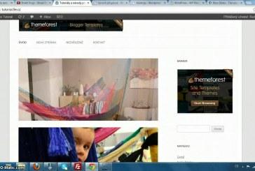 Jak vložit Nivo slider do WordPress šablony video návod
