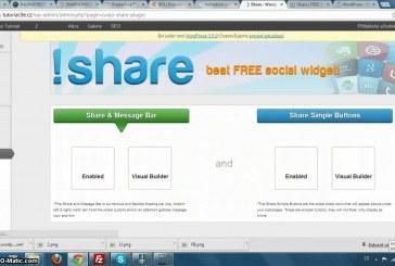 Share plugin pro sdílení na sociálních sítích pro WordPress