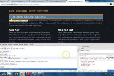 Rozdělení obsahu na sloupce pomocí shortcodů