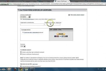 Vygenerování Paypal Donate tlačítka a vložení na web
