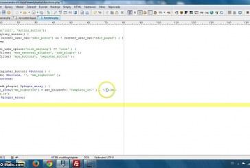 Vytvoření TinyMce tlačítka pro vložení shortcode