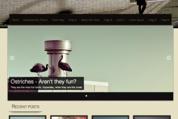 Sixteen free responsive WordPress šablona