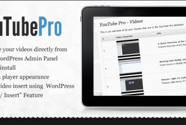 6 Youtube WordPress pluginů