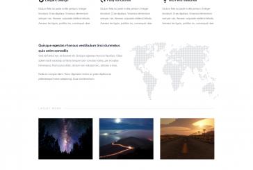 Finale – elegantní responsivní WordPress šablona zdarma