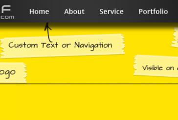 Jak vytvořit sticky (plovoucí) menu pomocí pluginu