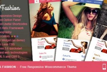 Vina Fashion free woocommerce šablona