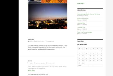 Twenty Fourteen nová základní WordPress šablona