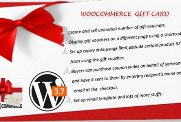Dárková karta pro WooCommerce