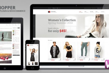 Shopper Woocommerce šablona