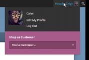 Nakupuj jako zákazník Woocommerce plugin