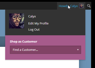 Shop as Customer for WooCommerce - CodeCanyon Previewer