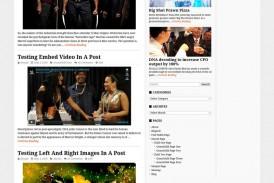 Buleten free responsivní WordPress šablona