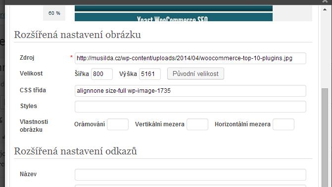 Upravit příspěvek ‹ Musilda.cz – WordPress
