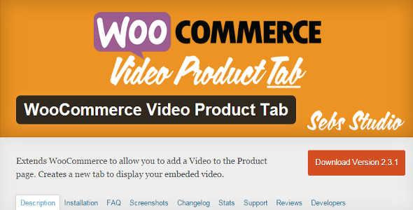 1.11. WooCommerce Video Product Tab