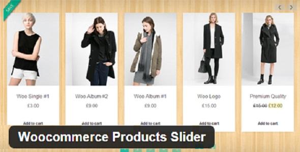 1.5. Woocommerce Products Slider