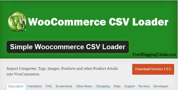 10.3. WooCommerce CSV Loader