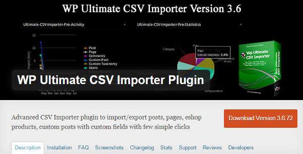 10.4. WP Ultimate CSV Importer Plugin