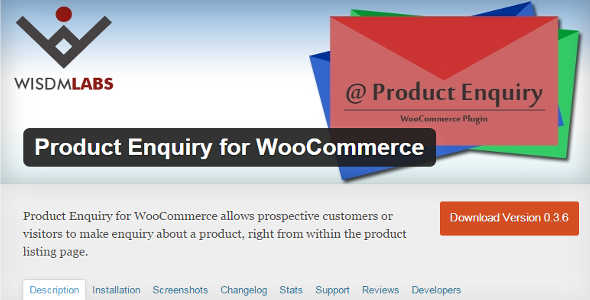 11.3. Product Enquiry for WooCommerce