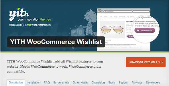 11.5. YITH WooCommerce Wishlist