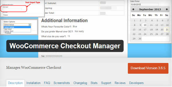 11.6. WooCommerce Checkout Manager