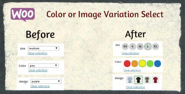 2.10. Woocommerce Color or Image Variation Select