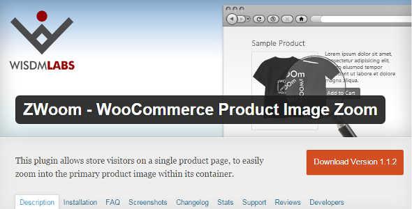 2.2. WooCommerce Product Image Zoom