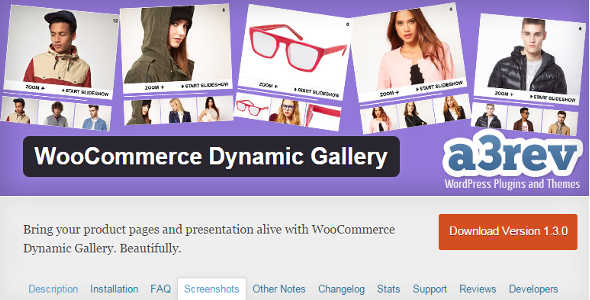 2.3. WooCommerce Dynamic Gallery