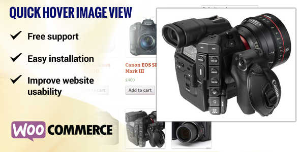 2.6. Image Hover View WooCommerce