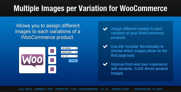 2.9. Multiple Images per Variation for WooCommerce