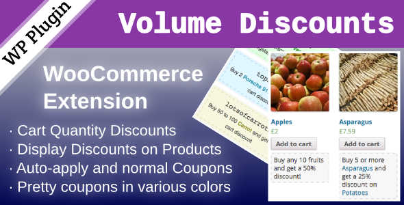 3.8. WooCommerce Volume Discount Coupons