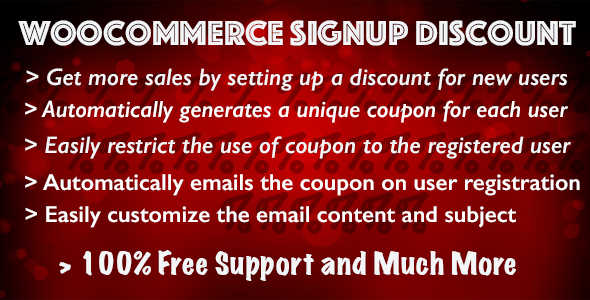 4.1. WooCommerce Signup Discount