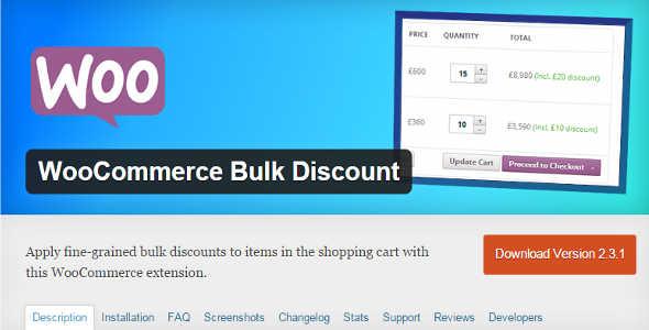 4.14. WooCommerce Bulk Discount