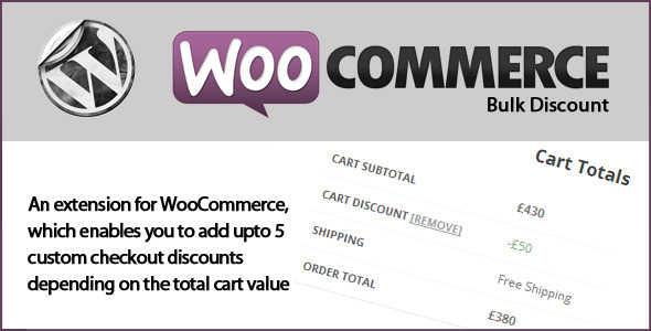 4.3. WooCommerce Bulk Discounts
