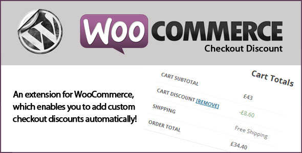 4.4. WooCommerce Checkout Discounts
