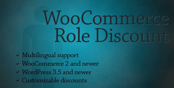 4.7. WooCommerce Role Discount