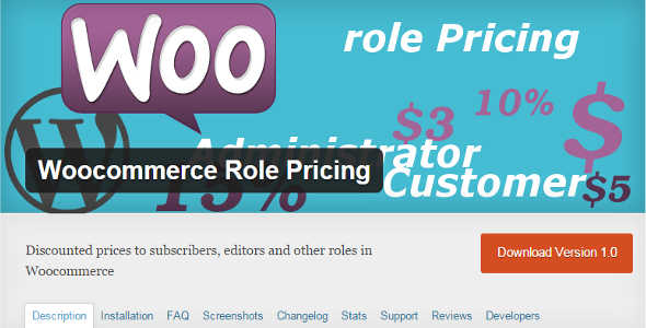 4.9. WooCommerce Role Pricing