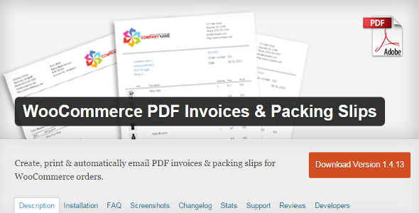 5.2. WooCommerce PDF Invoices and Packing Slips