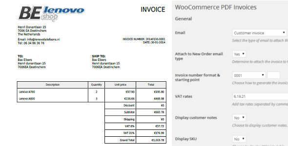 5.3. WooCommerce PDF Invoices