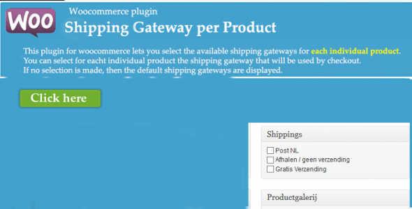 7.10. Shipping Gateway per Product