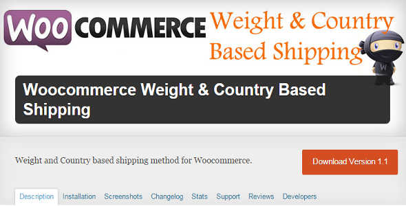 7.13. WooCommerce Weight and Country Based Shipping